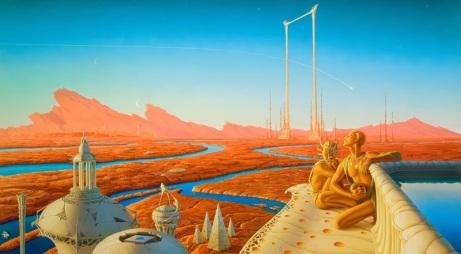 portada crónicas marcianas